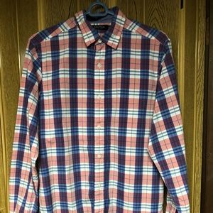 NAUTICA MENS BUTTON DOWN SHIRT SMALL